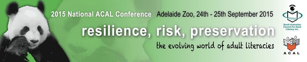 ACAL conference 2015 - Adelaide